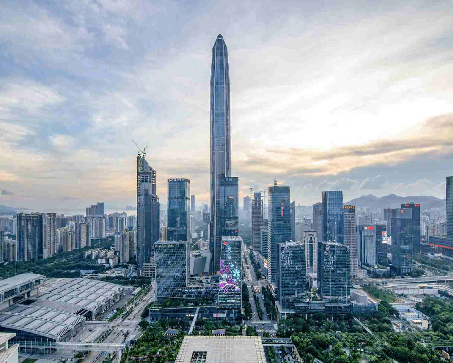 Shenzhen city view